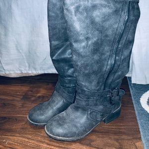 JustFab Knee-High Calvin Boots